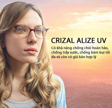 Crizal Alize UV Lenses